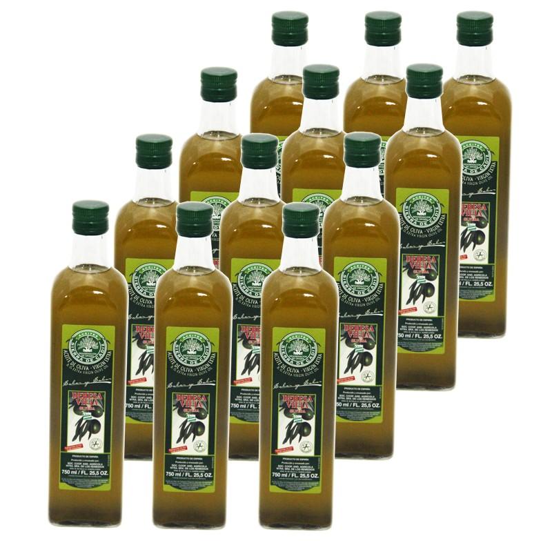 Aceite Oliva Denominación Origen Los Remedios Botella 0.75L x 12 u