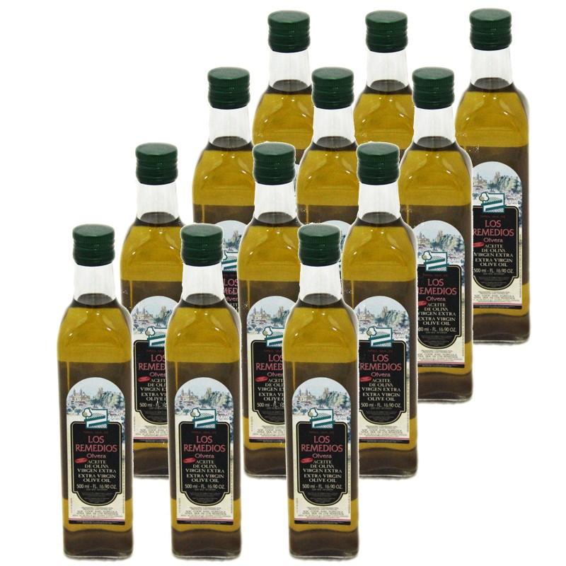 Aceite de Oliva Virgen Extra 0,5 Litro Los Remedios