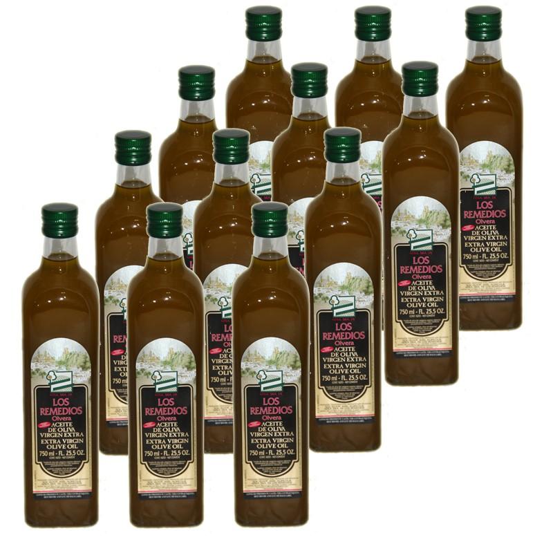 Aceite Oliva Botella 0.75L x 12 unidades CRISTAL