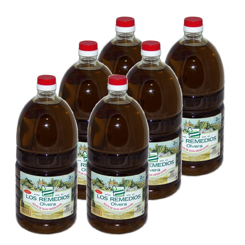 Aceite Oliva Botella 2L x 8 unidades PET